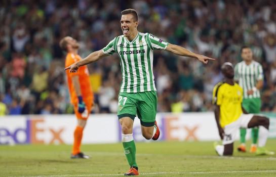 Giovani Lo Celso sous les couleurs du Betis Séville.