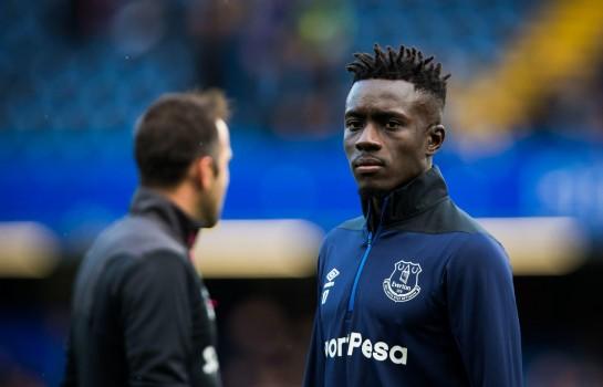Idrissa Gueye, milieu de terrain d'Everton.