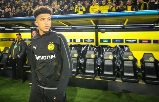 Jadon Sancho, milieu offensif du Borussia Dortmund.