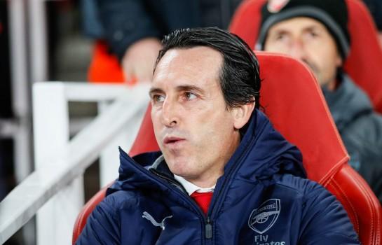 Unai Emery, entraîneur d'Arsenal.