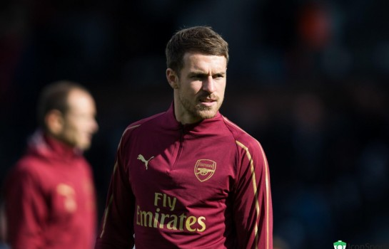 Aaron Ramsey, milieu de terrain d'Arsenal.