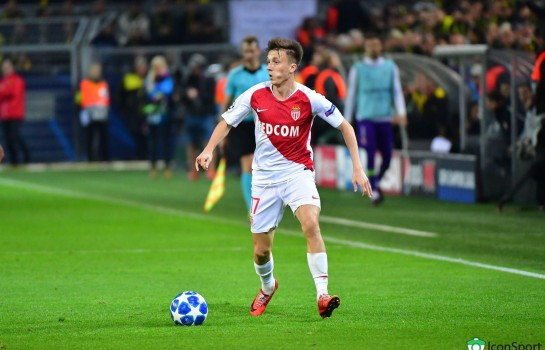 Aleksandr Golovin, milieu de terrain de l'AS Monaco.