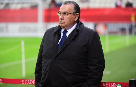 Jean-Pierre Caillot, président du Stade de Reims.