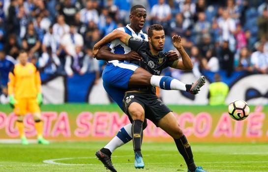 Luiz Phellype, attaquant au Sporting Portugal.