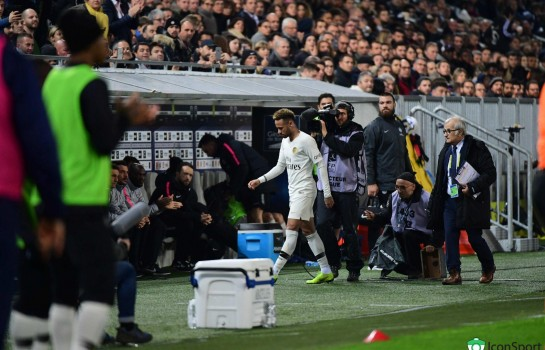 Neymar sera du voyage du PSG à Belgrade ce lundi.
