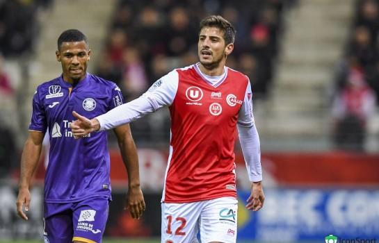 Pablo Chavarria, attaquant au Stade de Reims.