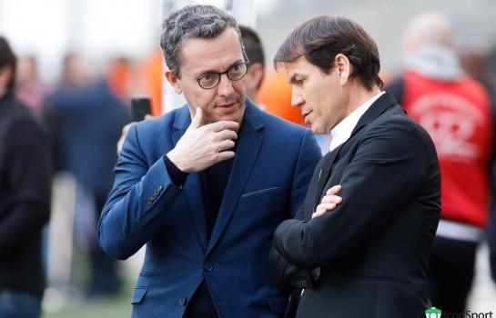 Eyraud n'a pas encore trouvé d'entraîneur pour remplacer Garcia sur le banc de l' OM