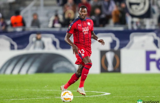 Younousse Sankharé, milieu de terrain des Girondins de Bordeaux.