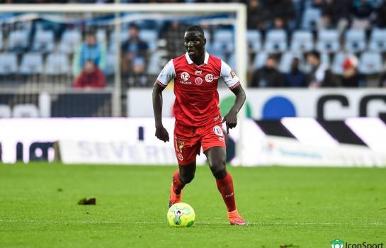 Aly Ndom, milieu de terrain de 22 ans formé à Reims.