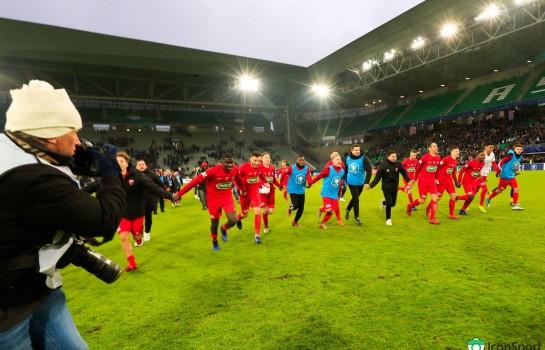 Le PSG a félicité Andrézieux, équipe de N2, pour son succès face à l'OM en Coupe de France.