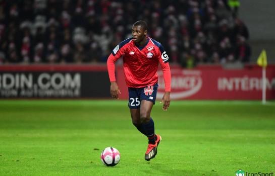 Fodé Ballo-Touré, recrue hivernale de l'AS Monaco.
