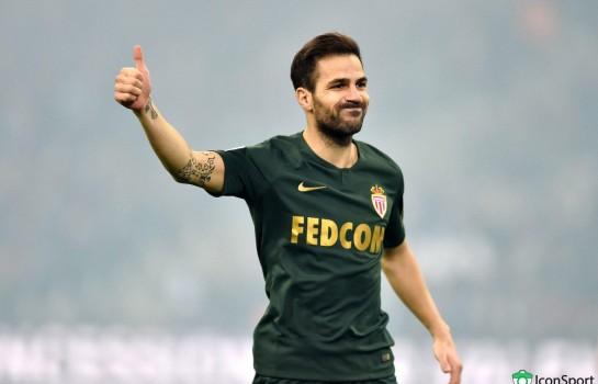 Cesc Fabregas, nouveau milieu de terrain de l'AS Monaco.