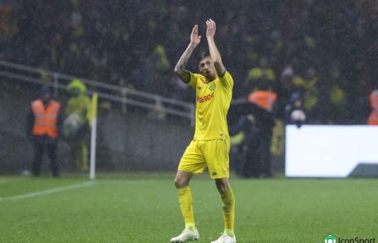 Emiliano Sala, attaquant du FC Nantes porté disparu depuis lundi.