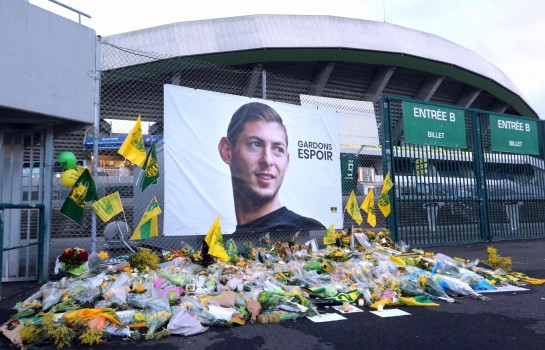 Emiliano Sala disparu dans l'accident de son avion le 21 janvier dernier.