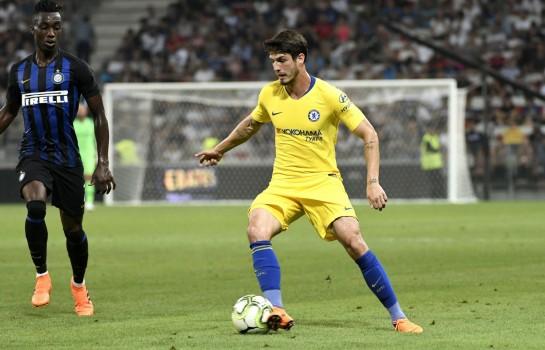 Lucas Piazon, milieu offensif brésilien de Chelsea FC.