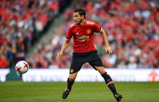 Matteo Darmian, arrière droit à Manchester United.