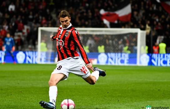 Olivier Boscagli, défenseur de l'OGC Nice, visé par l' ASSE.