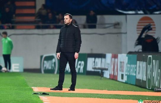 Yannick Blanchard, coach de GSI Pontivy, battu par le PSG 2-0 en Coupe de France.