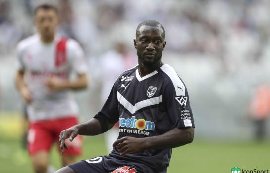 Youssouf Sabaly, arrière droit au FC Girondins de Bordeaux.