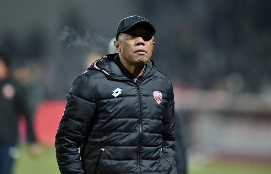 Antoine Kombouaré, coach du Dijon FCO.