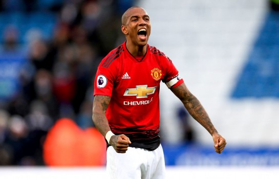 Ashley Young, défenseur de Manchester United.