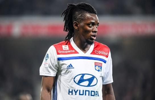 Bertrand Traoré, attaquant de l' OL intéresse la Premier League.