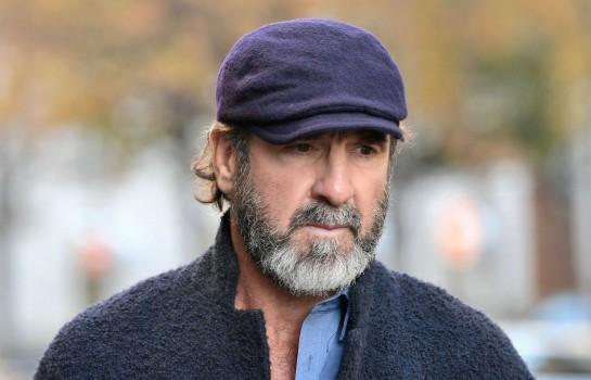 Éric Cantona, ancien attaquant de Manchester United.