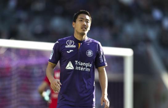 Gen Shoji, défenseur central au Toulouse FC.