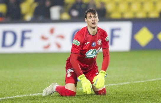 Mauro Goicoechea, gardien de but au Toulouse FC.