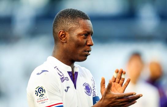 Max-Alain Gradel, attaquant et capitaine du Toulouse FC.