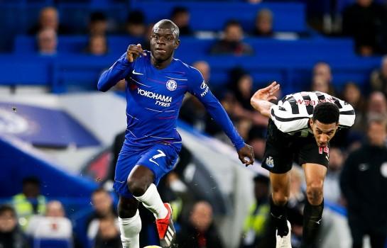 N'Golo Kanté, milieu de terrain de Chelsea FC.