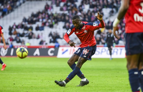 Duel Barça-PSG pour Pépé — Mercato-Lille
