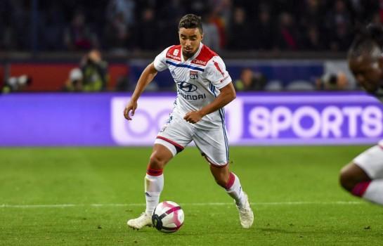 Rafael, défenseur latéral droit de l'OL.