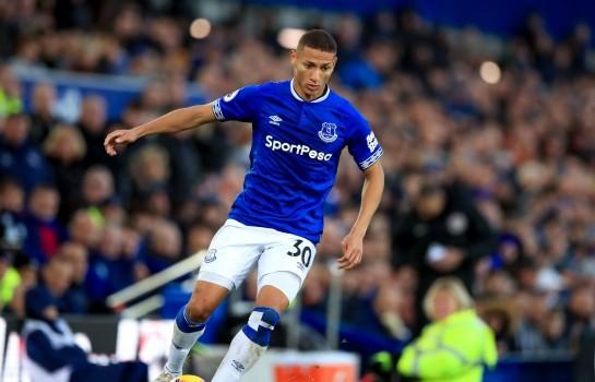Richarlison, ailier brésilien d'Everton ciblé par le PSG.