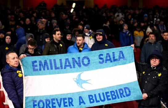L'Hommage de Cardiff City a Emiliano Sala.