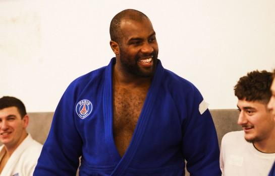 Teddy Riner, capitaine de l'équipe Judo du PSG.