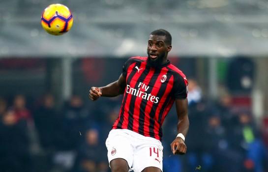 Tiémoué Bakayoko, milieu de terrain de l'AC Milan.