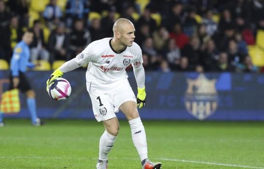 Maxime Dupé, gardien de but du FC Nantes.