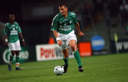 Sébastien Mazure, ancien attaquant de l' ASSE.