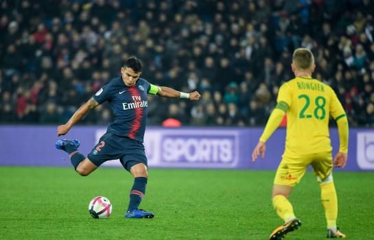 Thiago Silva et Valentin Rongier seront opposé le 17 avril, lors de la 28e journée de Ligue 1 en retard.