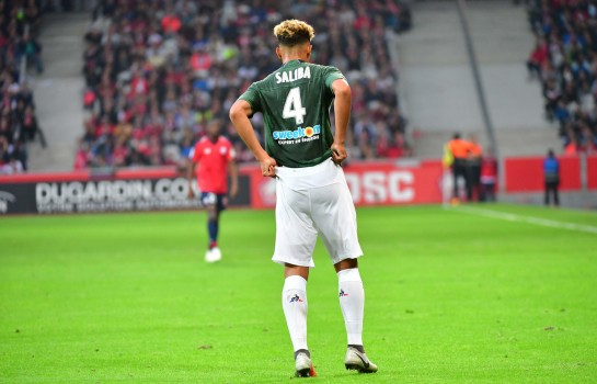 William Saliba, défenseur de l'ASSE courtisé par Arsenal et Tottenham.