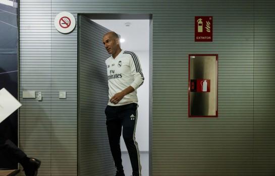 Zinedine Zidane de retour sur le banc du Real Madrid.