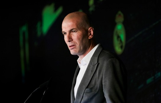 Zinedine Zidane, coach du Real Madrid.