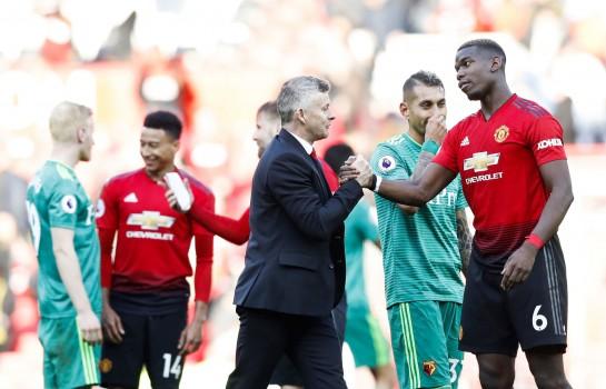 Pogba retenu à Manchester United par Solskjaer
