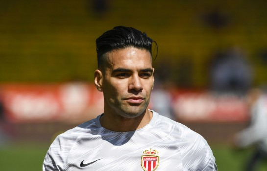 Radamel Falcao, attaquant de l'AS Monaco.