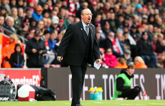 Rafael Benitez , Manager de Newcastle.