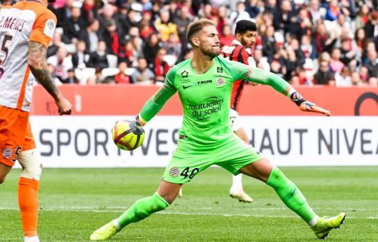 Benjamin Lecomte, gardien du Montpellier HSC, convoité par l' OM et le Barça