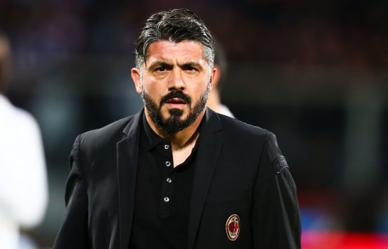 Gennaro Gattuso quitte l'AC Milan.