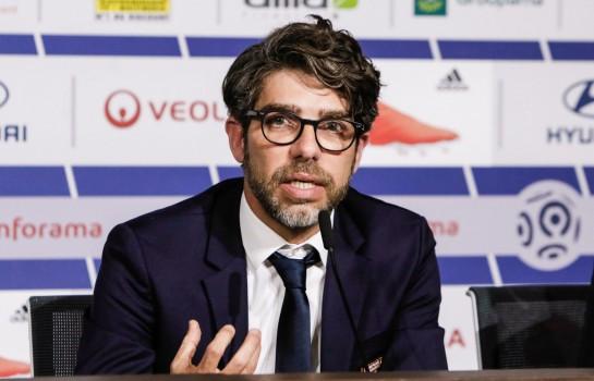 Juninho, directeur sportif de l' OL.