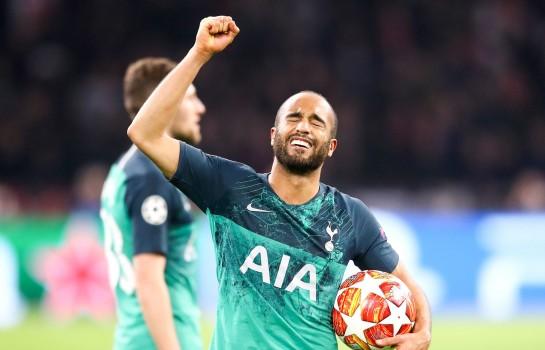 Lucas Moura, le grand héro de la qualification de Tottenham face à l'Ajax Amsterdam.